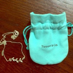 Tiffany & Co Olive Branch Necklace Paloma Picasso